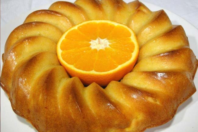 bolo de laranja fofo e fit