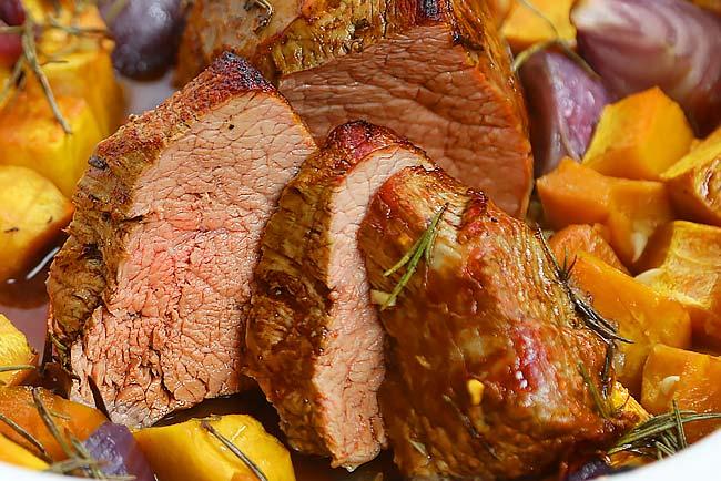 carne assada suculenta e perfeita