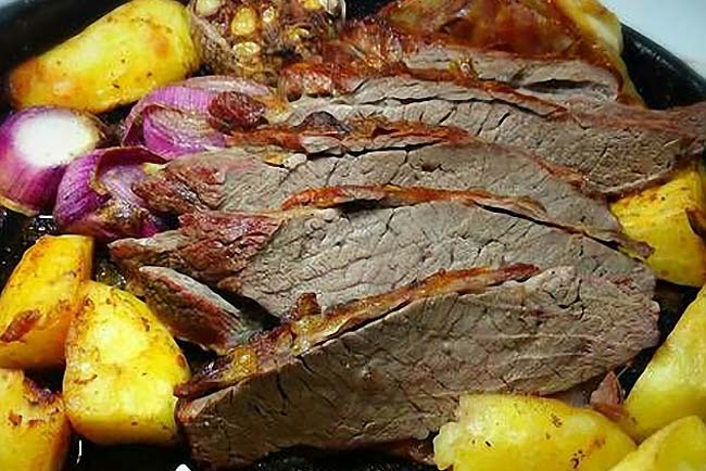 carne assada macia