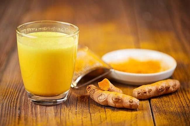 Chá Detox de açafrão