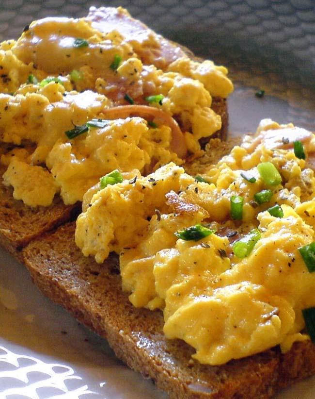 fazer os melhores ovos mexidos