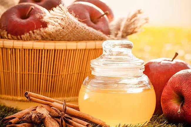 usar corretamente vinagre de maçã