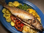 peixe assado no forno como