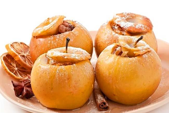 melhores maçãs assadas