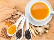 receita de chá de açafrão