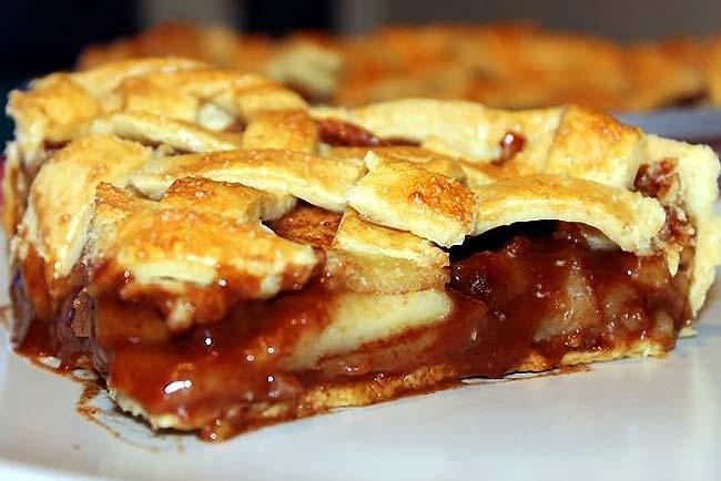 bolo de maçã fofo