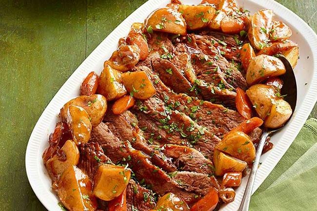 carne assada no forno