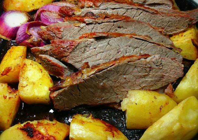 carne assada na perfeição