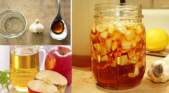 Alho e vinagre de maçã aumentam a imunidade