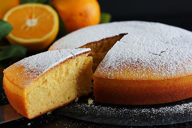 receitas de bolo de laranja fofinho