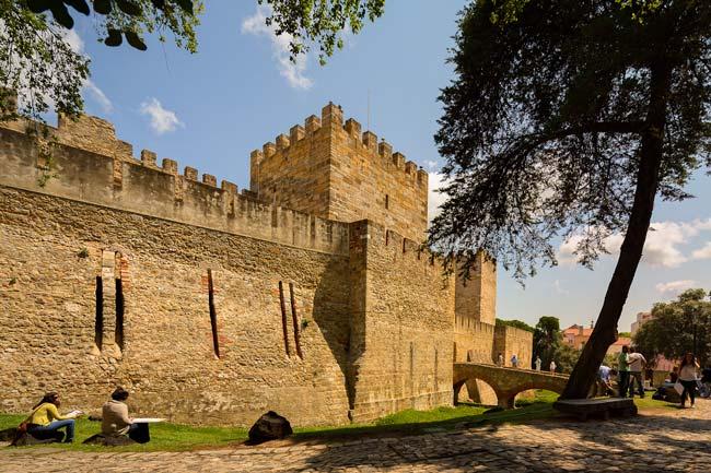 curiosidades do Castelo de São Jorge