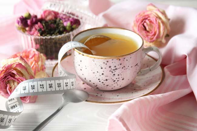 Chá para secar a barriga