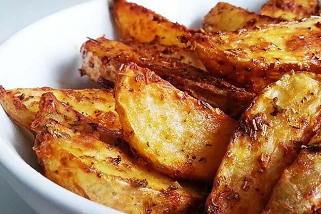 melhores batatas assadas suculentas