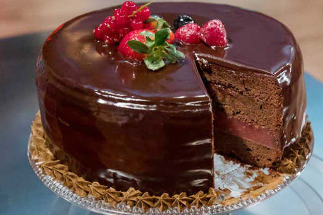 melhores receitas de bolos de chocolate