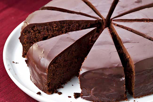 bolo de chocolate simples e fácil