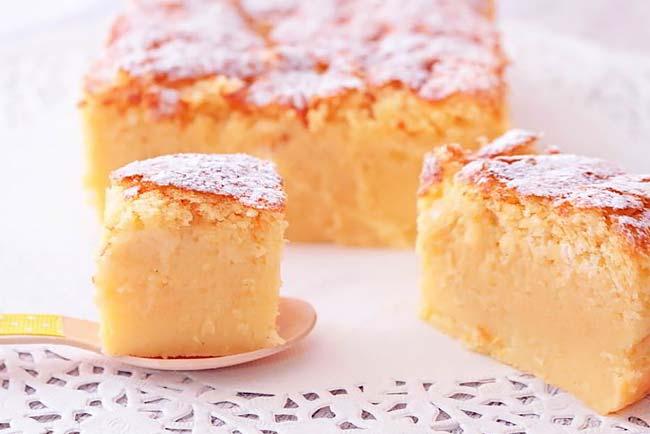 bolo de limão húmido e fofinho
