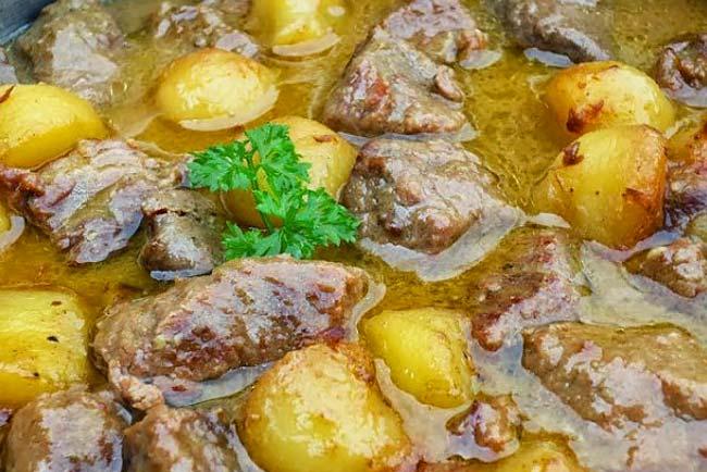 carne estufada tenra