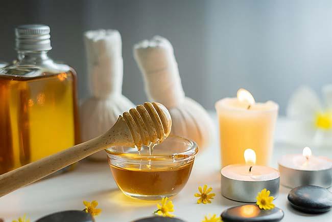 usar mel nas suas rotinas de beleza