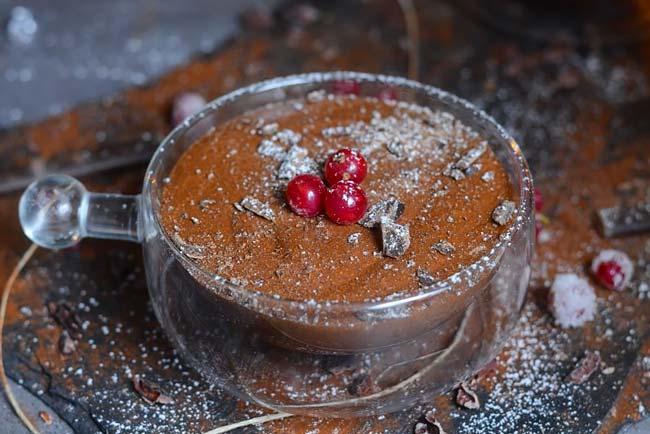Mousse de chocolate receita fácil
