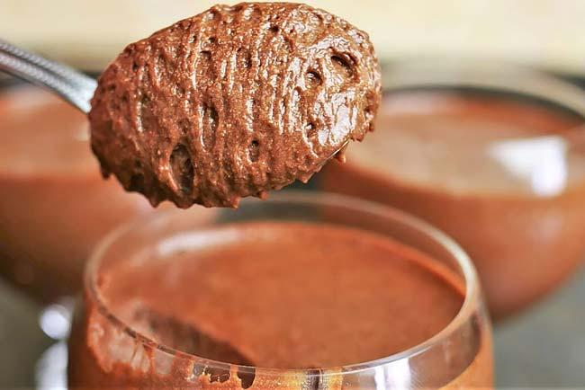 Mousse de chocolate receita caseira