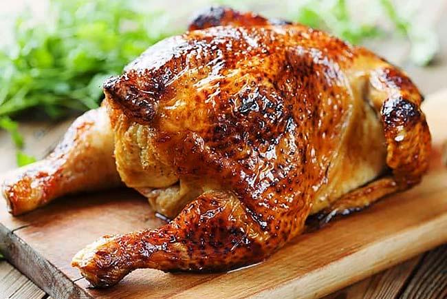 melhor frango assado no forno