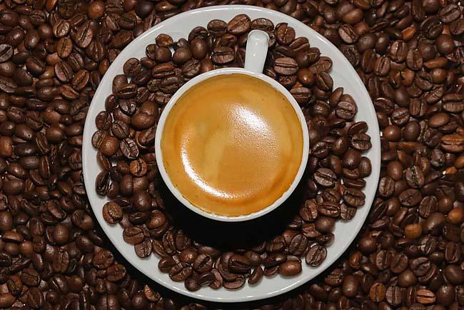 Café antes ou depois do treino