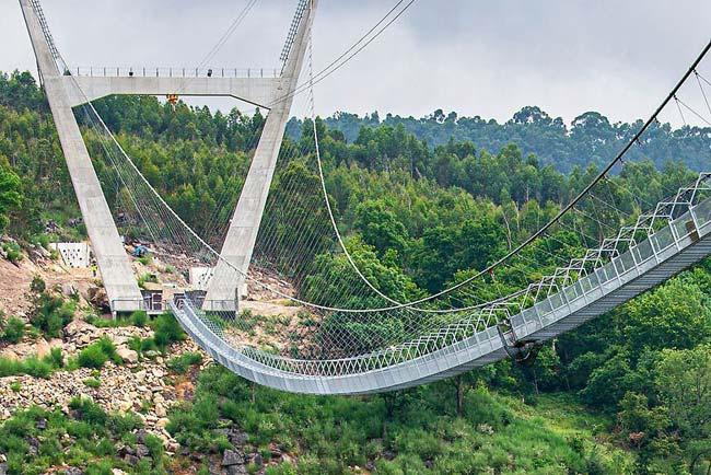 Ponte Pedonal Suspensa de Arouca