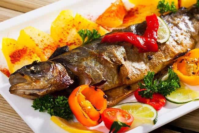 o melhor peixe assado