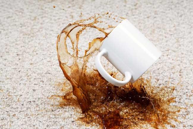 tirar manchas de café