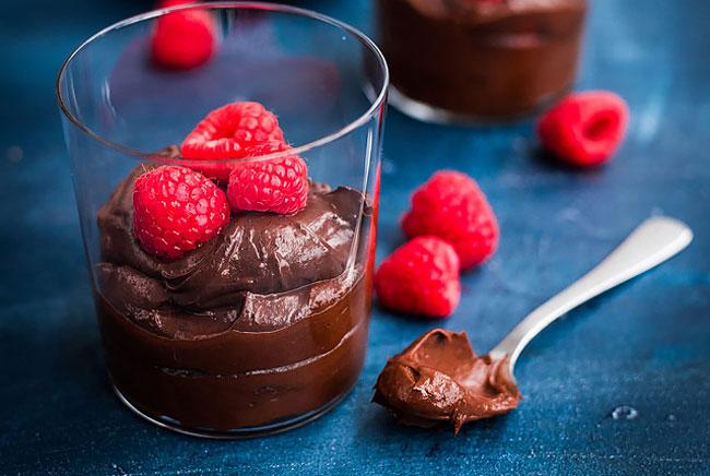 mousse de chocolate perfeita