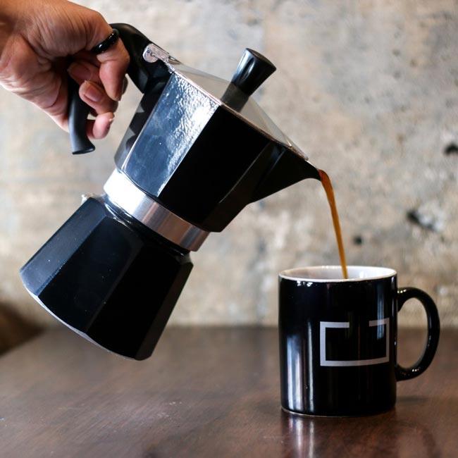 Como usar a Cafeteira moka