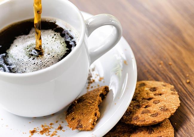 acompanham o café