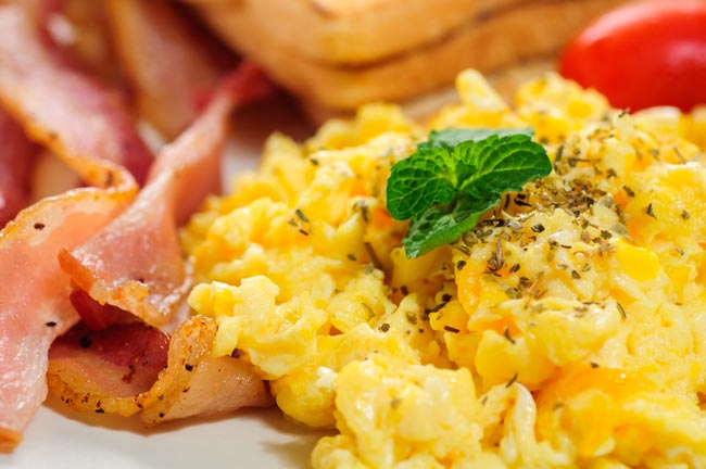 fazer ovos mexidos na perfeição
