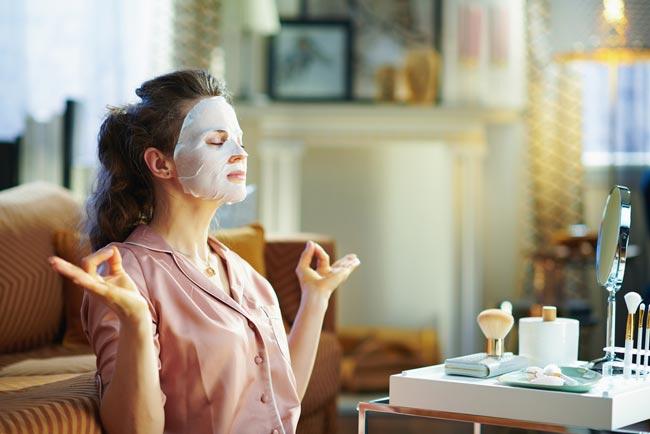 máscaras anti-rugas caseiras