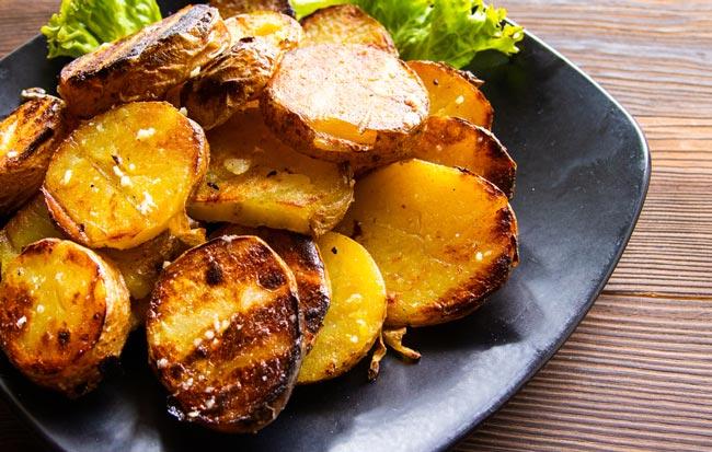 batata assada com limão
