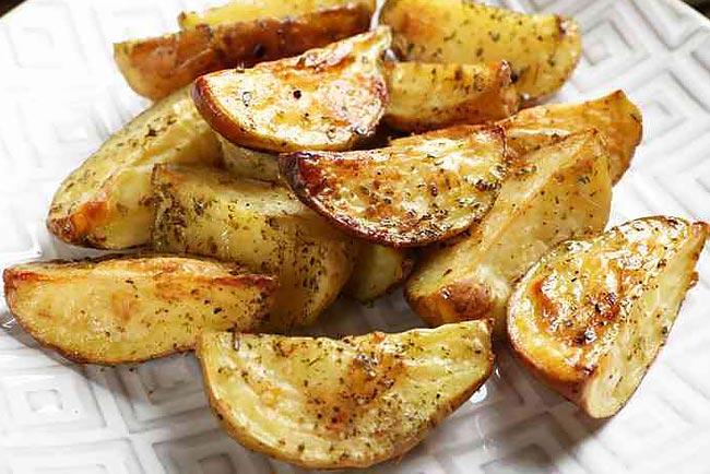 melhor batata assada suculenta