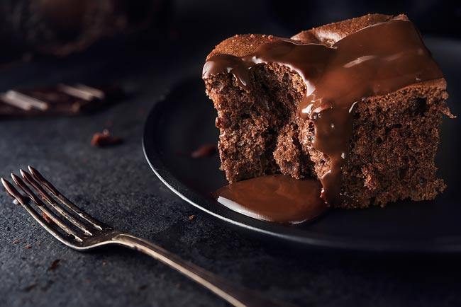 bolos de chocolate fofinhos