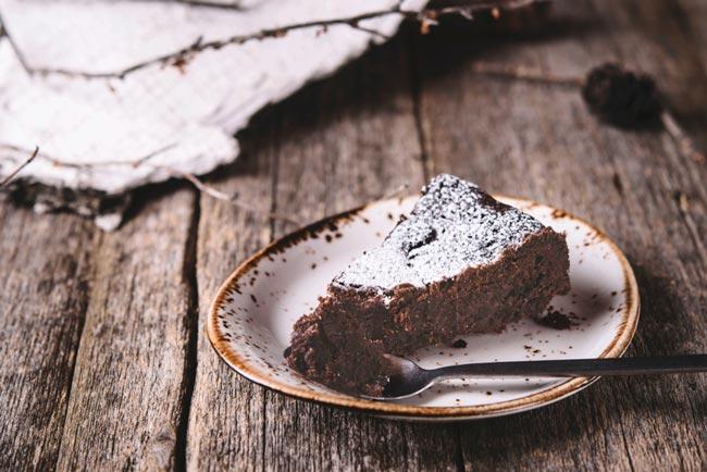 bolo de chocolate fofo e simples