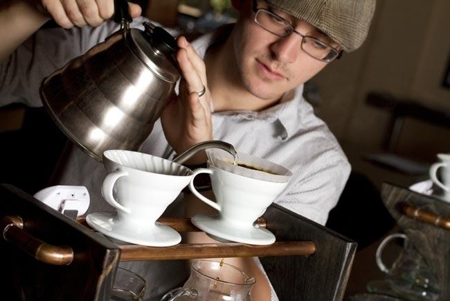 fazer café coado perfeito
