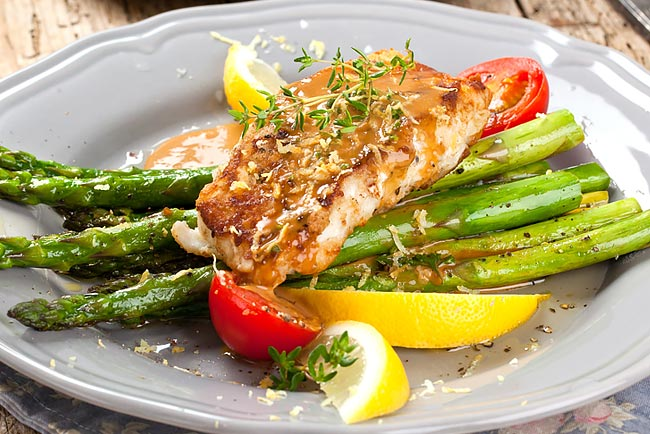 Os melhores peixes assados no forno