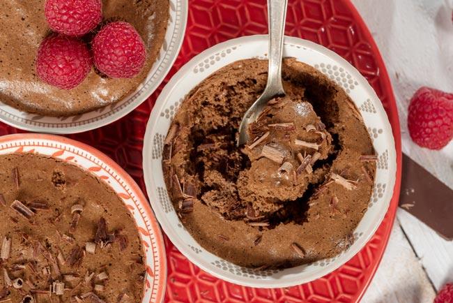 melhor mousse de chocolate com natas