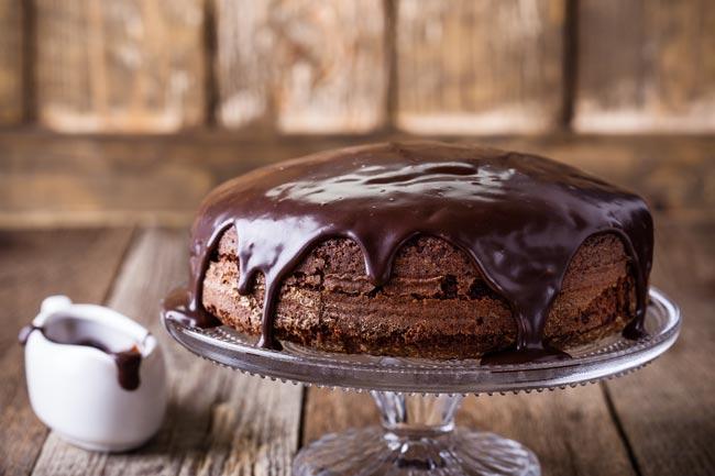 o melhor bolo de chocolate de sempre