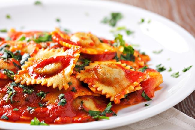 pratos típicos italianos