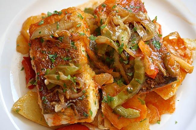 melhor bacalhau assado no forno