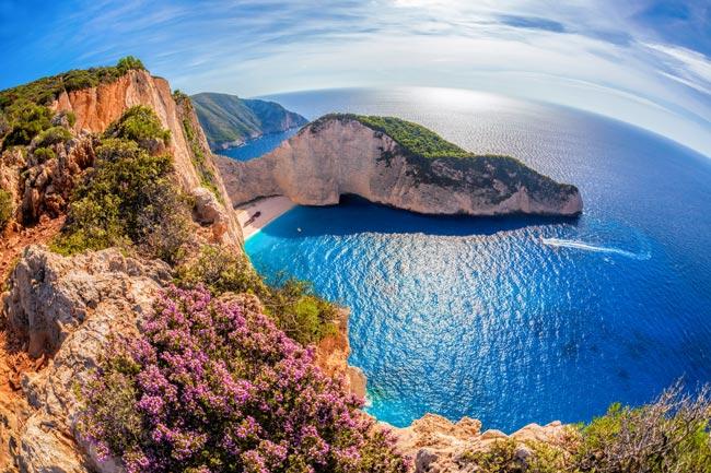 destinos de Águas Azuis da Europa
