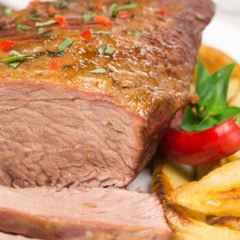melhor carne assada no forno