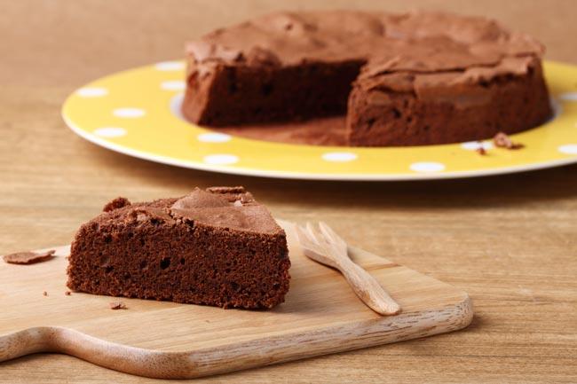 bolo de chocolate fofo