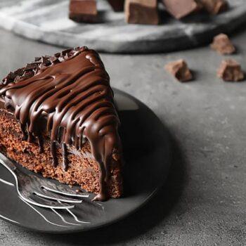 melhor bolo de chocolate negro