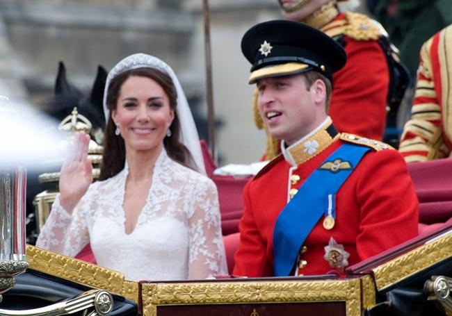 curiosidades sobre o casamento do Príncipe William
