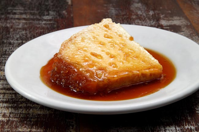 pudim de pão delicioso e tradicional